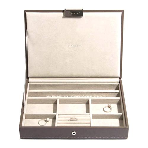 Stackers Šperkovnice Stacker Norková/béžová | Jewellery Box Lid Classic