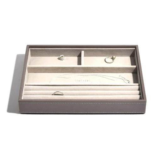 Stackers Patro šperkovnice Stacker Norková/béžová | Jewellery Box Layers Classic