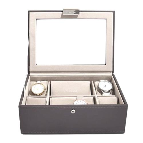Stackers Pouzdro na hodinky Stacker Norková/béžová | Watch Case Classic