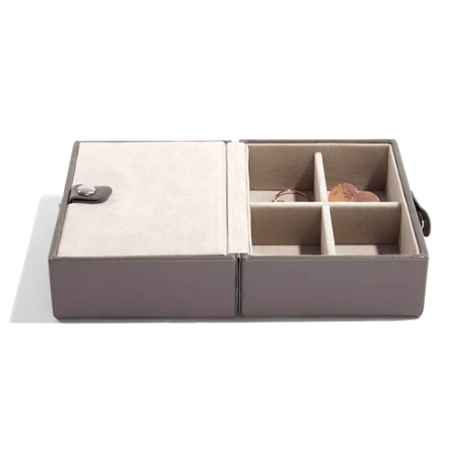 Cestovní šperkovnice Stackers Norková/béžová, Travel Jewellery Box