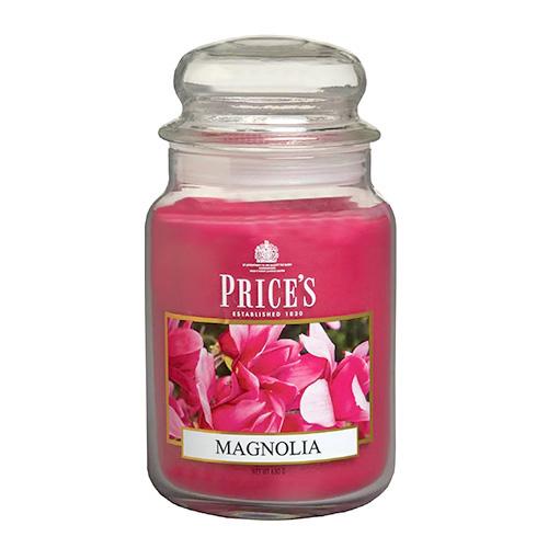 Price's Candles Svíčka ve skleněné dóze Price´s Candles Magnólie, 630 g