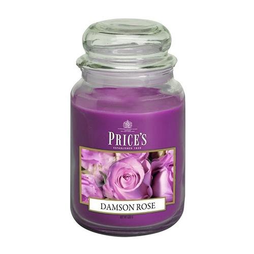 Price's Candles Svíčka ve skleněné dóze Price´s Candles Růže, 630 g