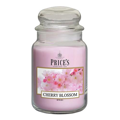 Price's Candles Svíčka ve skleněné dóze Price´s Candles Třešňový květ, 630 g