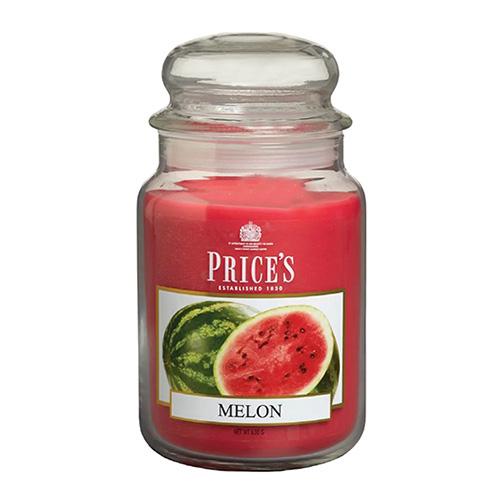Price's Candles Svíčka ve skleněné dóze Price´s Candles Meloun, 630 g