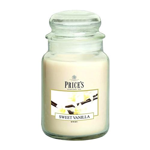 Price's Candles Svíčka ve skleněné dóze Price´s Candles Sladká vanilka, 630 g