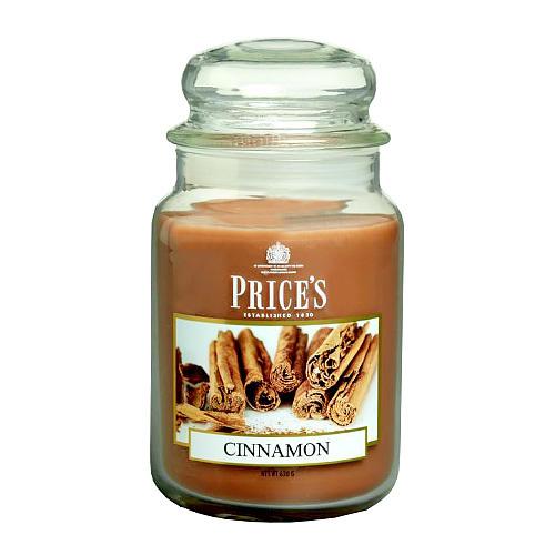 Price's Candles Svíčka ve skleněné dóze Price´s Candles Skořice, 630 g