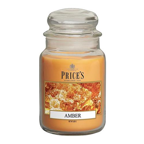 Price's Candles Svíčka ve skleněné dóze Price´s Candles Jantar, 630 g