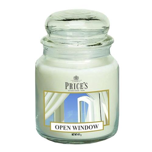 Price's Candles Svíčka ve skleněné dóze Price´s Candles Otevřené okno, 411 g