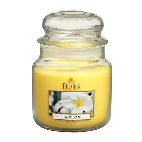 Price's Candles Svíčka ve skleněné dóze Price´s Candles Plumérie, 411 g