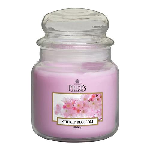Price's Candles Svíčka ve skleněné dóze Price´s Candles Třešňový květ, 411 g