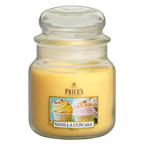 Price's Candles Svíčka ve skleněné dóze Price´s Candles Vanilkový košíček, 411 g