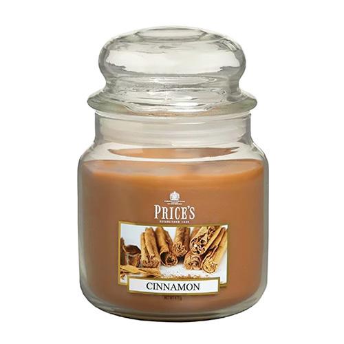 Price's Candles Svíčka ve skleněné dóze Price´s Candles Skořice, 411 g