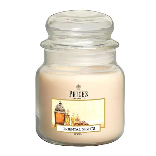 Price's Candles Svíčka ve skleněné dóze Price´s Candles Orientální noci, 411 g