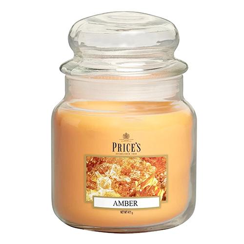 Price's Candles Svíčka ve skleněné dóze Price´s Candles Jantar, 411 g