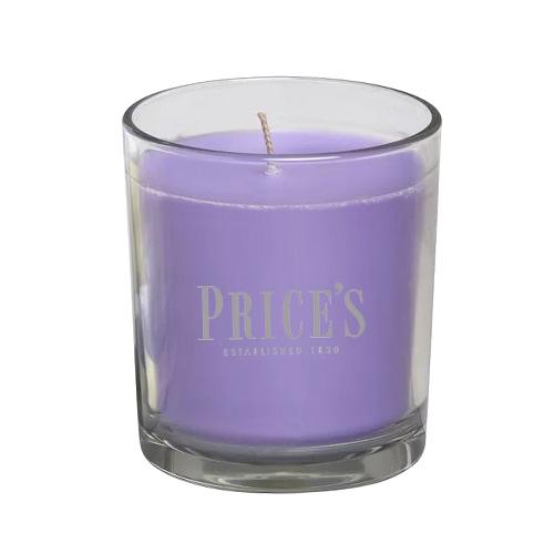 Price's Candles Svíčka ve skleněném válci Price´s Candles Levandule a citronová tráva, 170 g