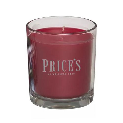 Price's Candles Svíčka ve skleněném válci Price´s Candles Černá třešeň, 170 g