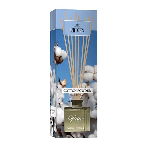 Price's Candles Rákosový difuzér Price´s Candles Bavlna, 100 ml