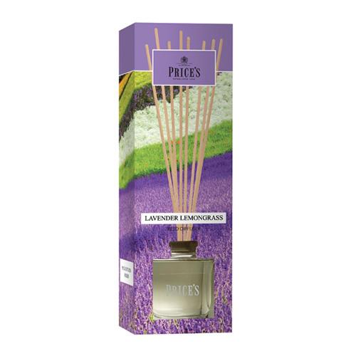 Price's Candles Rákosový difuzér Price´s Candles Levandule a citronová tráva, 100 ml