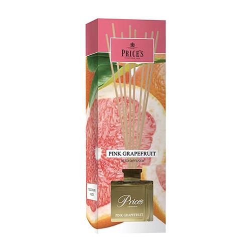 Price's Candles Rákosový difuzér Price´s Candles Růžový grapefruit, 100 ml