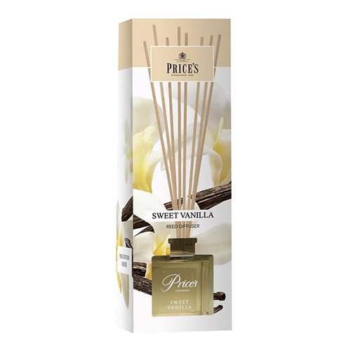 Price's Candles Rákosový difuzér Price´s Candles Sladká vanilka, 100 ml