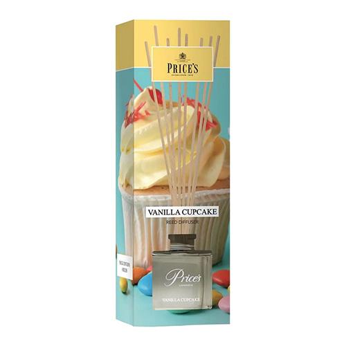 Price's Candles Rákosový difuzér Price´s Candles Vanilkový košíček, 100 ml