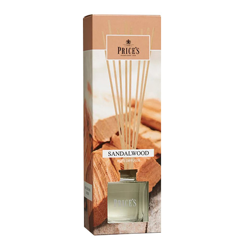 Price's Candles Rákosový difuzér Price´s Candles Santalové dřevo, 100 ml