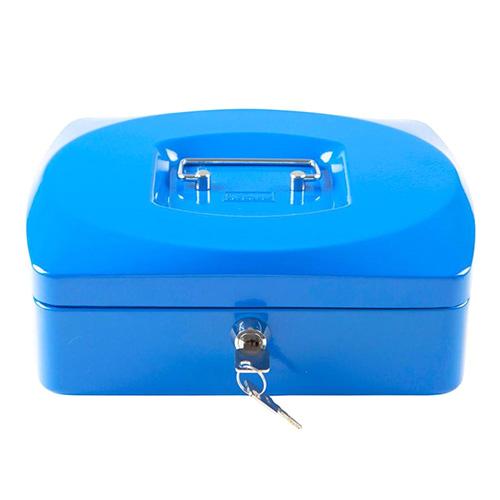 Pokladna Idena Modrá, 255 x 200 x 90 mm