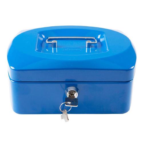 Pokladna Idena Modrá, 205 x 160 x 90 mm