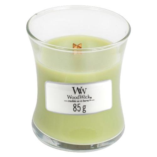 Svíčka oválná váza WoodWick Kapradina, 85 g