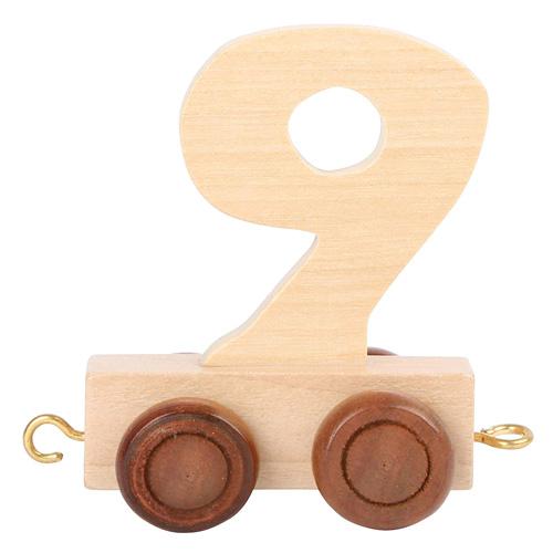 Small foot by Legler Vagónek dřevěné vláčkodráhy - přírodní číslice - číslo 9 Rozměr: cca. 5x3x6 cm Věk: 3+ Vybranou číslici zapište prosí
