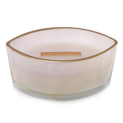 Svíčka dekorativní váza WoodWick Kouřový jasmín, 453.6 g