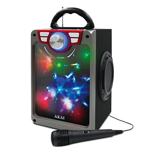 Přenosný reproduktor Akai 9204497 | CEU7300-BT, černý