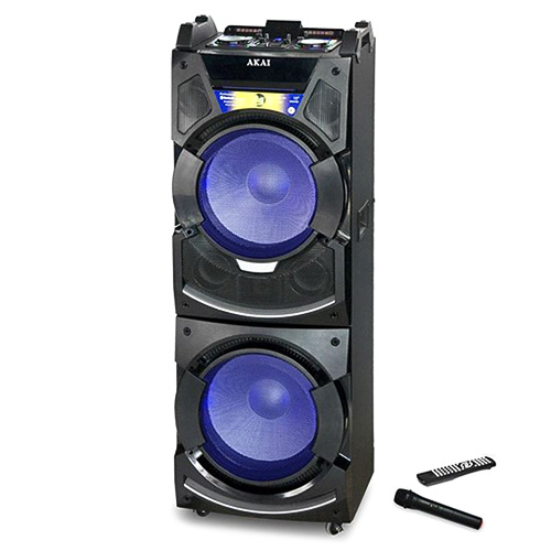 Přenosný reproduktor Akai 9204499 | DJ-S5H, černá