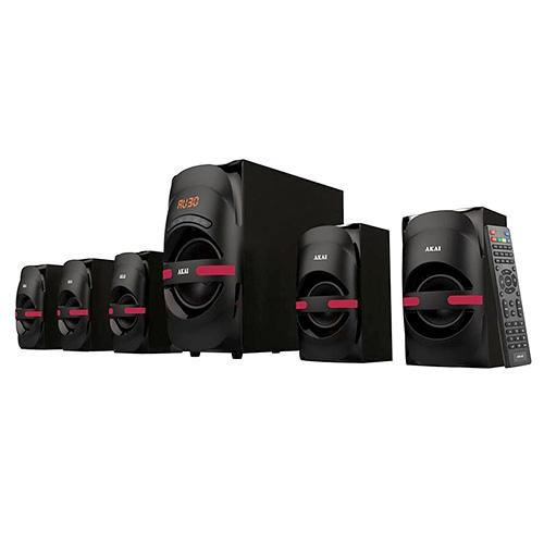 Repro systém Akai 9204505 | HT014A-5086F, aktivní, černá