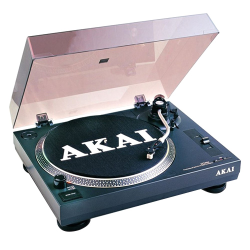 Gramofon Akai 9204520 | TTA05USB, černá