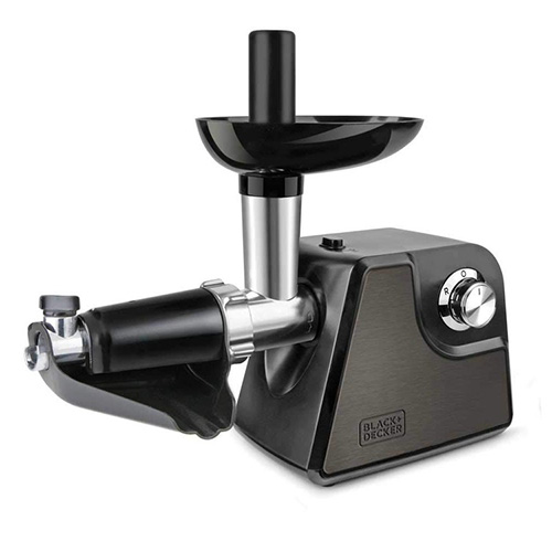 Black & Decker Meat mincer with attachment for tomato; 300W Nominal power; 9204616 | Meat mincer with attachment for tomato; 300W Nomin