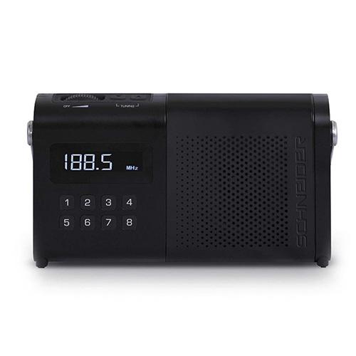 Přenosné rádio Schneider SC170ACLBLK