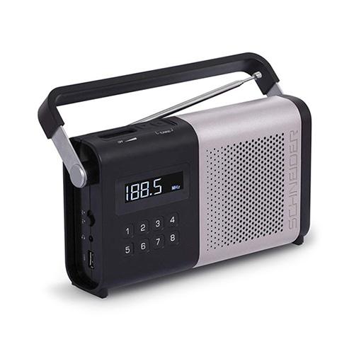 Přenosné rádio Schneider SC170ACLSIL