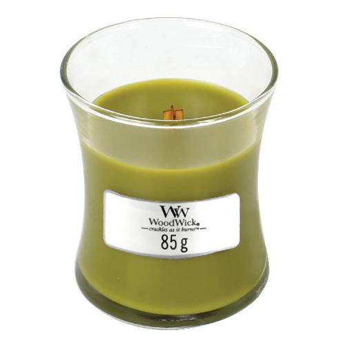 Svíčka oválná váza WoodWick Košík jablek, 85 g
