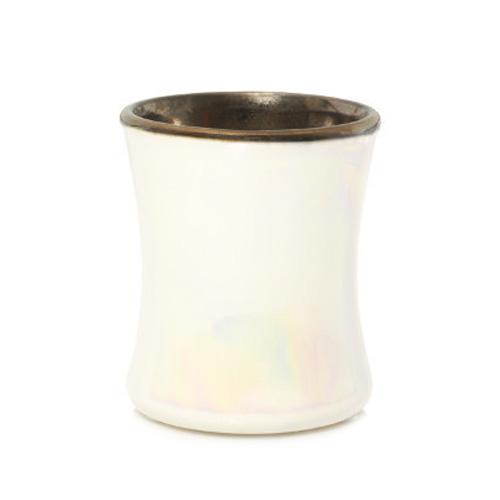 Svíčka keramická oválná váza WoodWick Kouřový jasmín, 133.2 g
