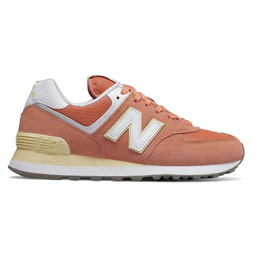 Dámská obuv New Balance WL574ESF   Oranžová   37,5