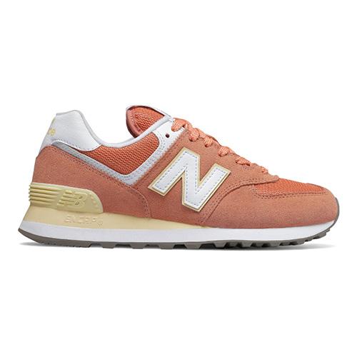 Dámská obuv New Balance WL574ESF   Oranžová   40,5