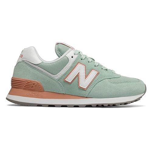 Dámská obuv New Balance WL574ESE   Světle zelená   41