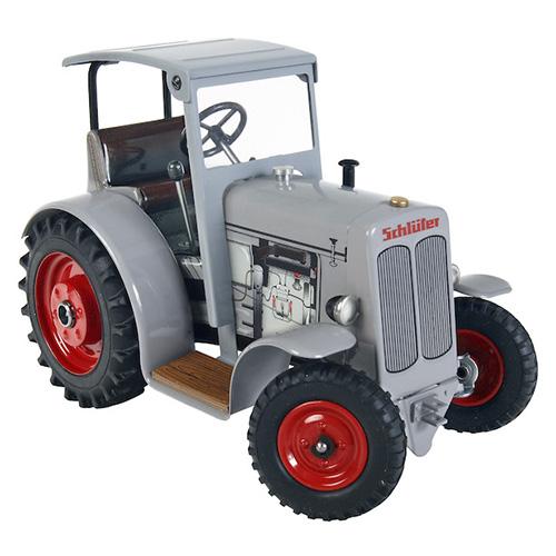 Kovap Traktor Schlüter DS 25 se střechou, šedivý