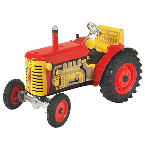 Kovap Traktor Zetor červený, červené kov. disky