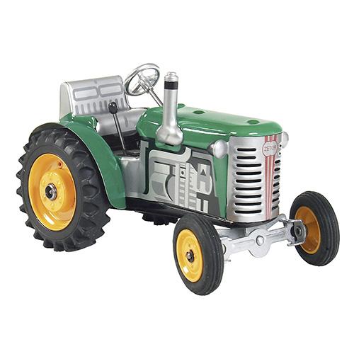 Kovap Traktor Zetor zelený, žluté kov. disky