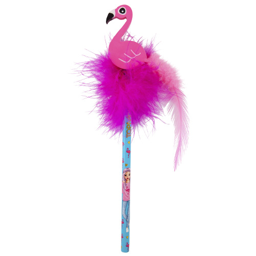 Tužka s gumou Top Model ASST Růžové chmýří, pelikán