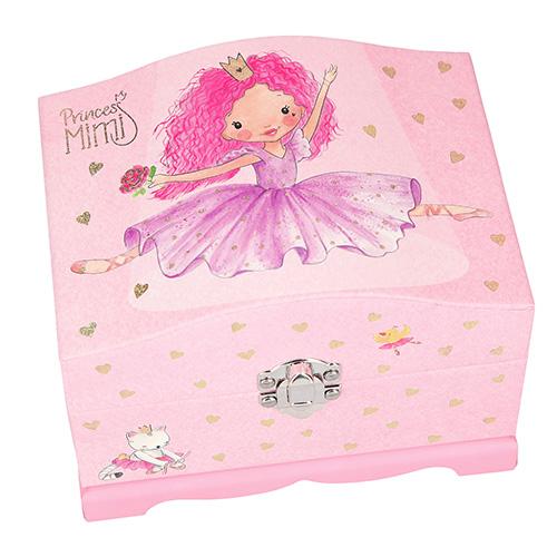 Šperkovnice Princess Mimi Princezna baletka, růžová