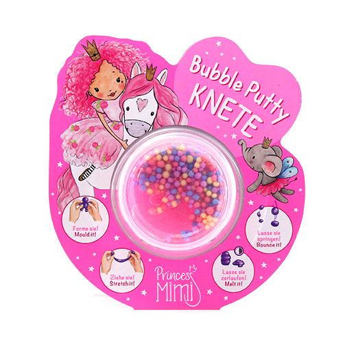 Modelovací hmota Princess Mimi ASST Barevné perličky, růžová