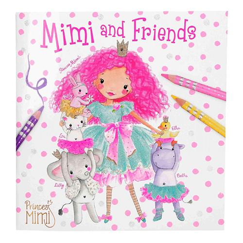 Omalovánky Princess Mimi Princezna Mimi a přátelé